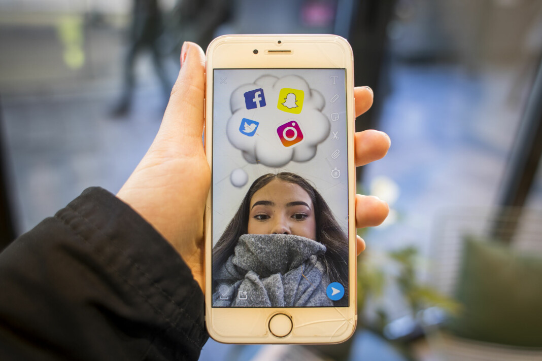 95 prosent i alderen 9-18 år svarer at de bruker Youtube, mens rundt halvparten bruker Facebook.