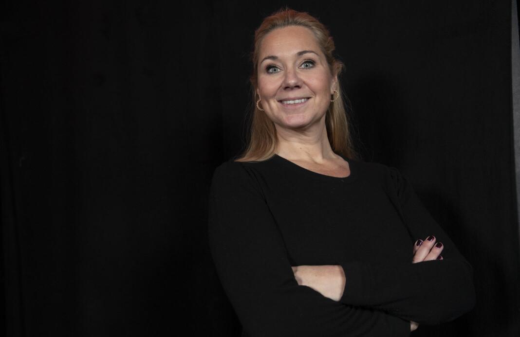 Tine Austvoll Jensen har fått ny jobb, men vil ikke si hvor.