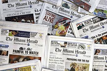 USAs nest største avisgruppe er konkurs