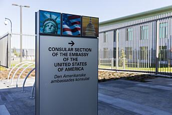 USA tredobler prisen for norske pressevisum: – Dramatisk