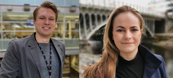 Nora Rydne og Hans Jordheim ansatt i E24