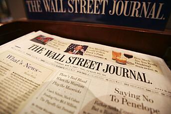 Tre Wall Street Journal-journalister utvises fra Kina