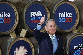 Bloomberg lover å selge medieselskap om han blir president