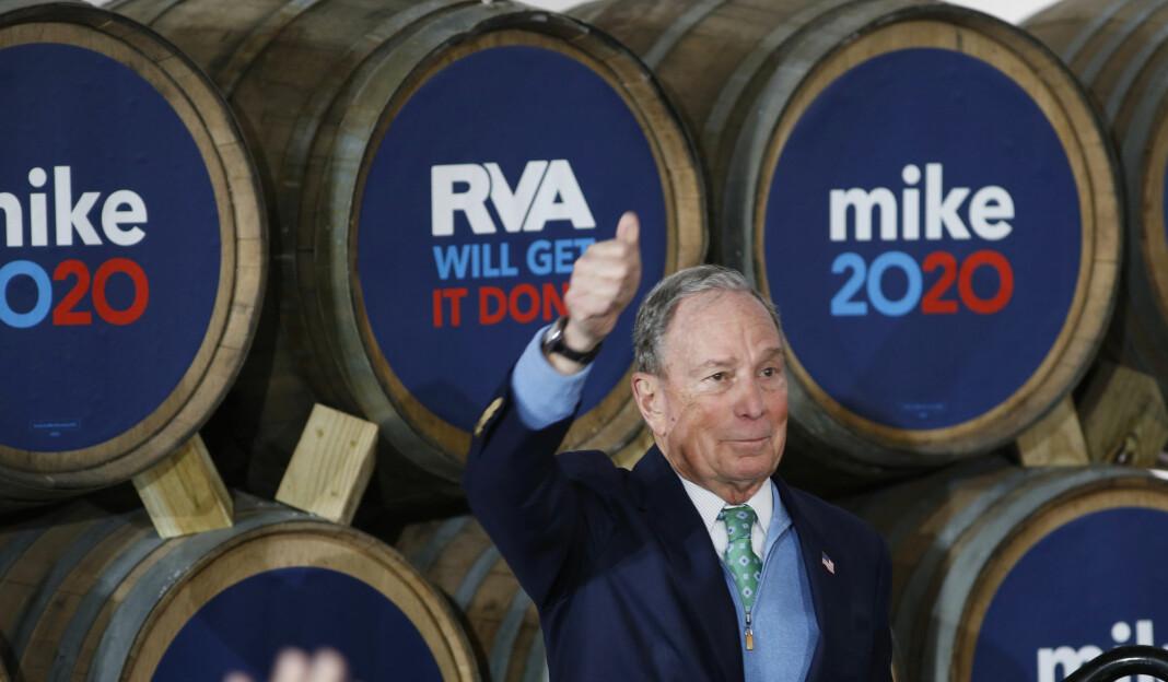 Multimilliardær Michael Bloomberg lover å selge sitt innbringende selskap Bloomberg LP dersom han vinner kampen om å bli USAs neste president.