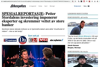 I et sponset innlegg på Facebook, spres en falsk Aftenposten-artikkel