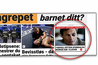 Plantet falsk Dagbladet-artikkel på forsiden av Dagbladet.no og Sol.no