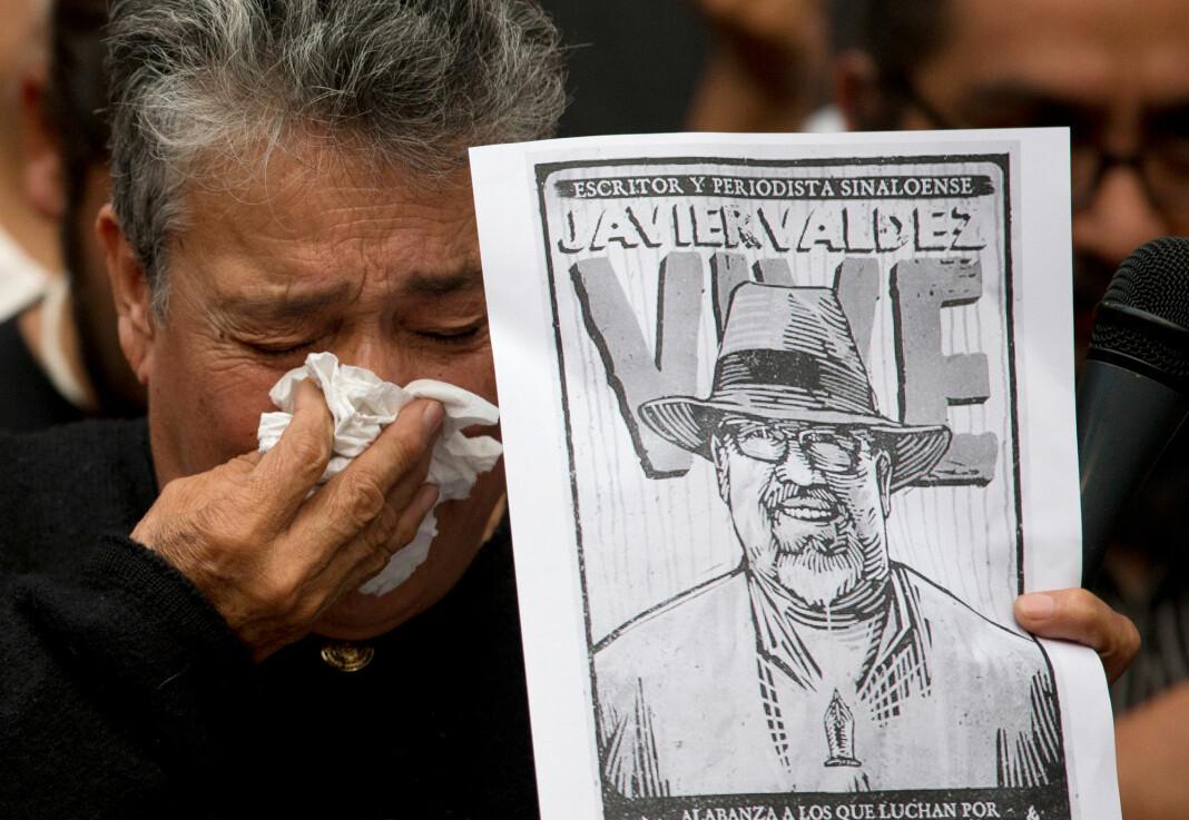 Javier Valdez ble skutt og drept på åpen gate i Sinaloa-delstatens hovedstad Culiacán 15. mai 2017.