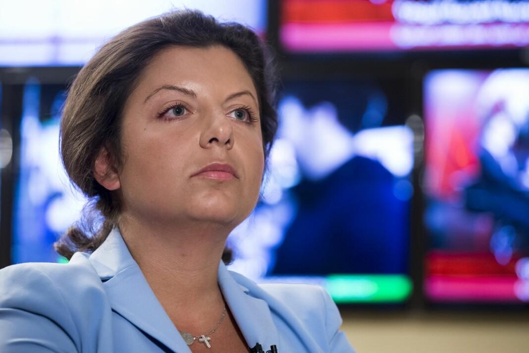 Margarita Simonjan er sjefredaktør i Rossija Segodnja, som eier nettavisen Sputnik.