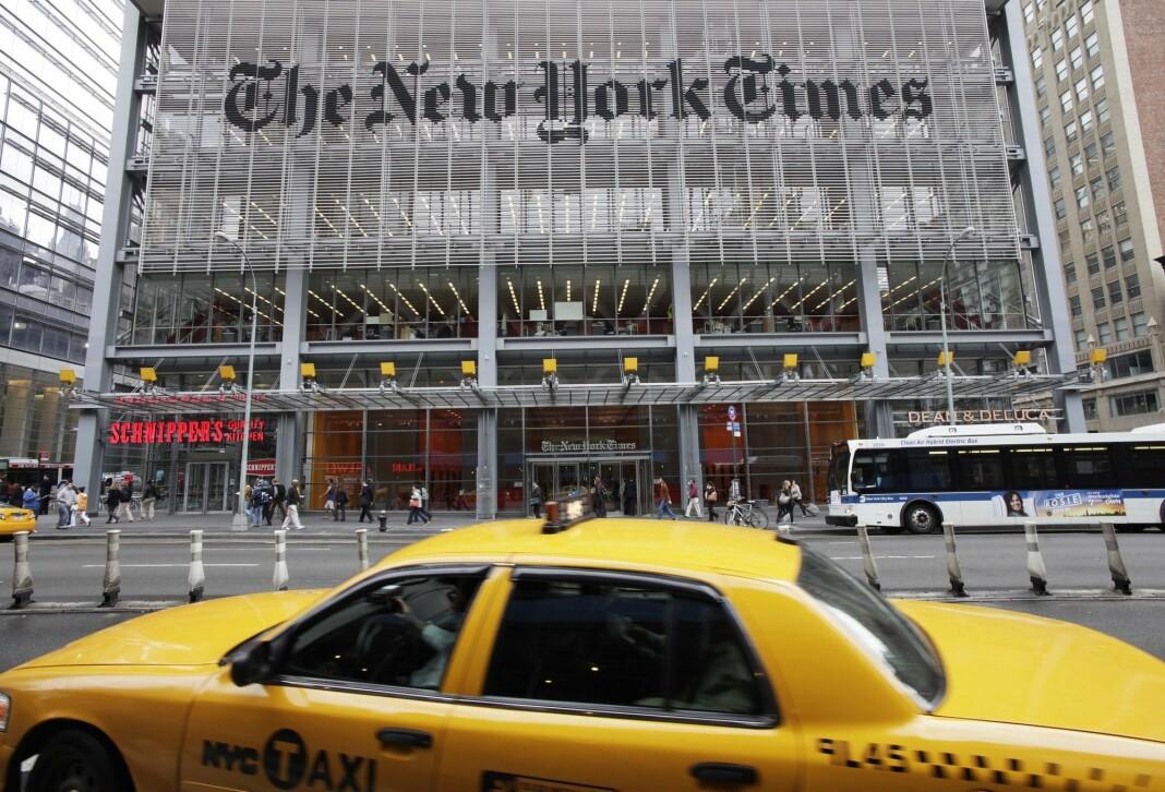 New York Times har passert fem millioner abonnenter.