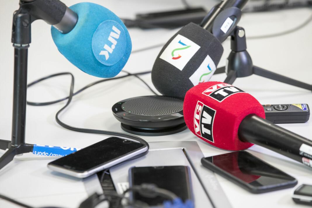 En 15 prosent av medielederne i undersøkelsen sier at det ikke er aktuelt å permittere.