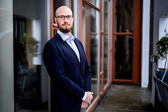 Håkon Skard, president i Psykologforeningen.
