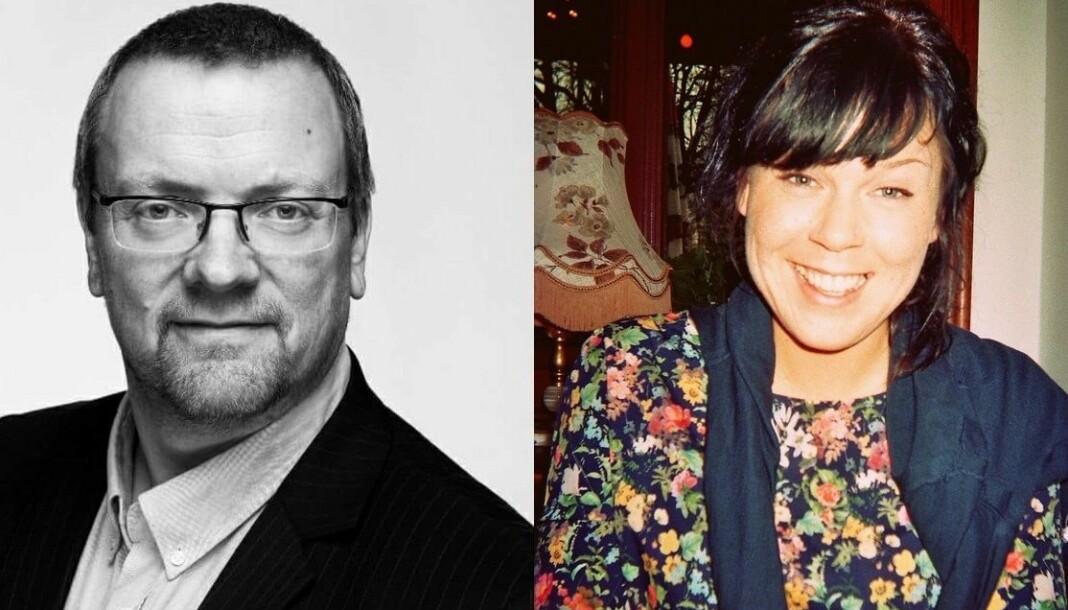 Atle Bersvendsen og Margrete Konstad går til Adressa. Foto: Innsendt