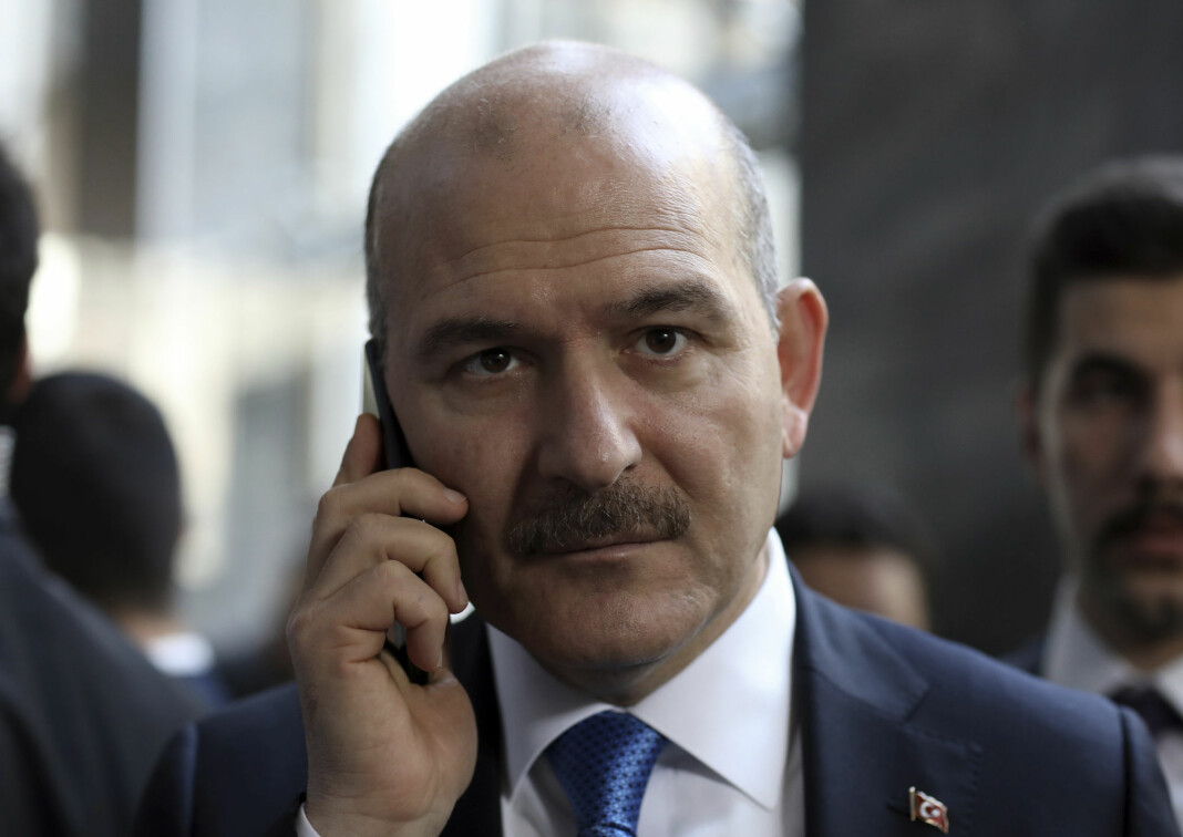 – Det er visse ting som heter statshemmeligheter og nasjonale sikkerhetsinteresser, sier Tyrkias innenriksminister Suleyman Soylu.