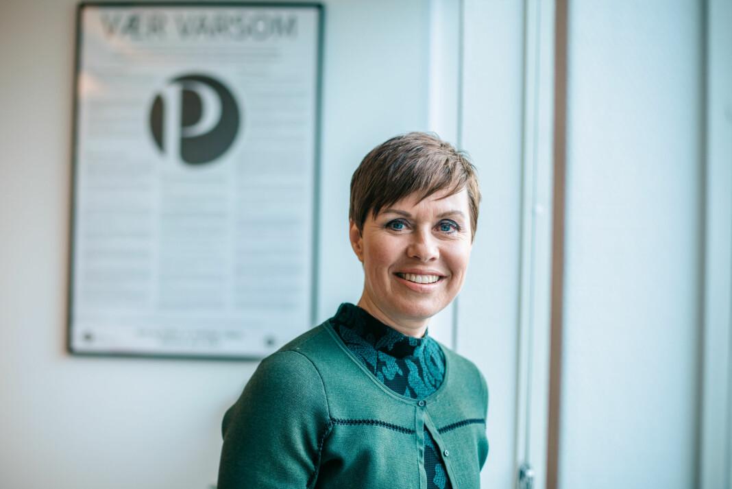 Ina Lindahl Nyrud har jobbet med medieansvarsloven for NJ siden 2009.