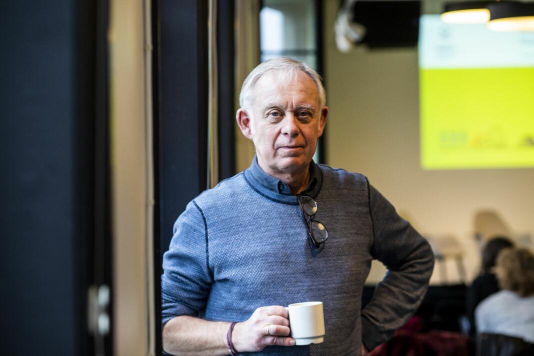 Tidligere NRK-journalist Petter Nome lagde i 1988 en framtidsfilm om klimaendringer.