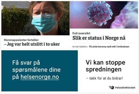 Myndighetene Med Egne Korona Annonser Hos Nrk