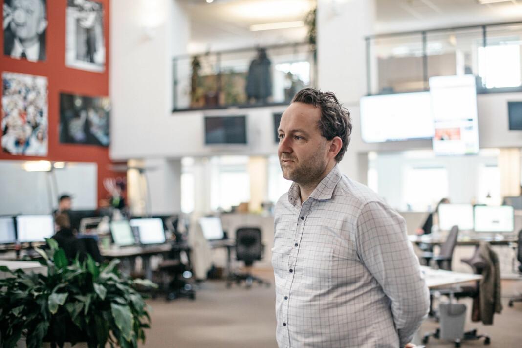 Nyhetsredaktør i Tønsbergs Blad, Erik Wold Aunem,o har gitt opp å få til en ordentlig debatt i kommentarfeltet.