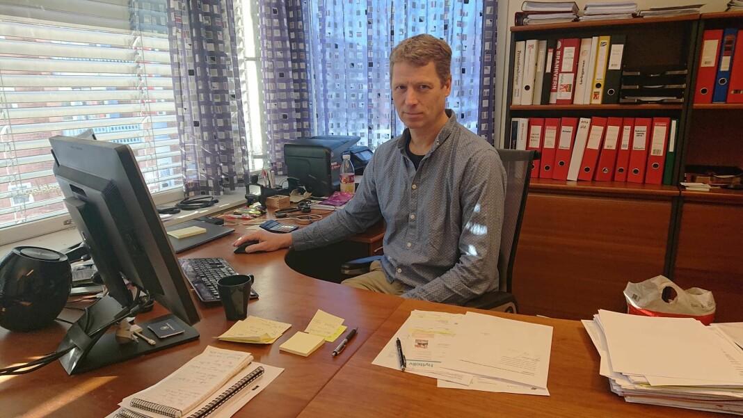 Ola Stave, administrerende direktør i Hallingdølen, har måttet permittere seks ansatte.