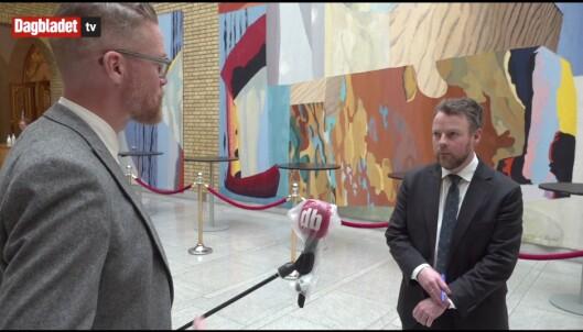 NORGE: Dagbladet intervjuer Torbjørn Røe Isaksen før...