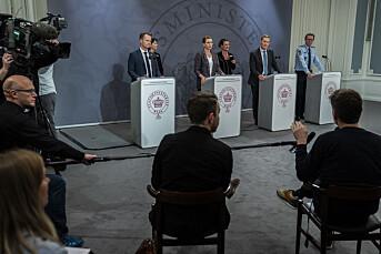 Dansken, svensken og nordmannen: Slik dekkes korona-krisa i våre naboland