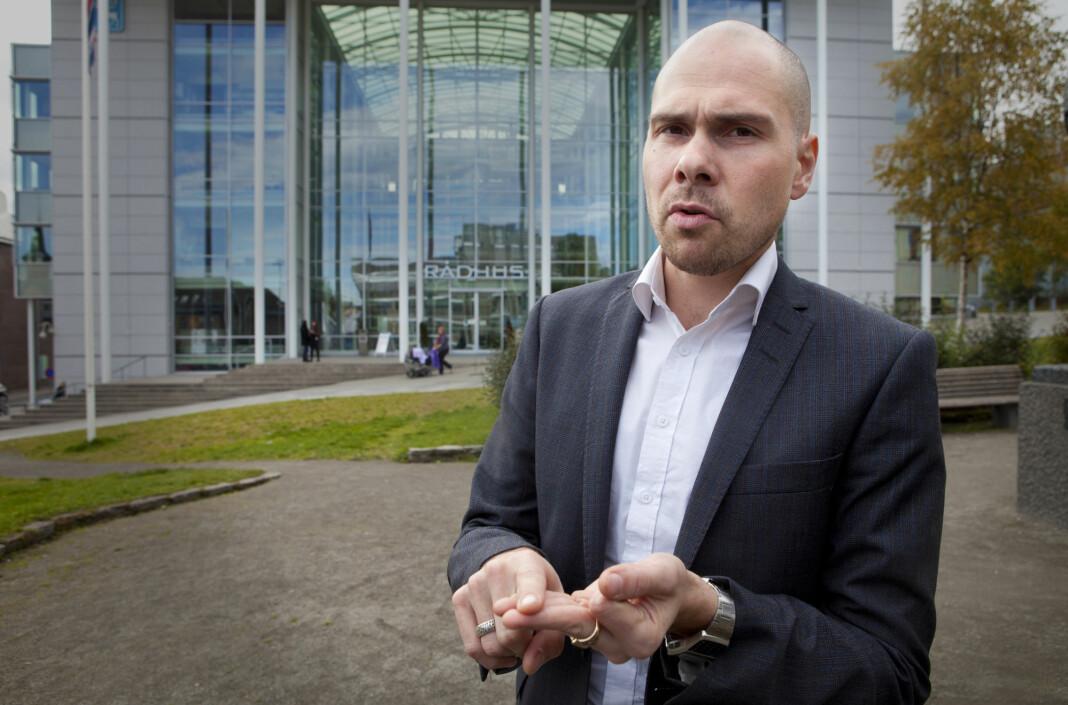 Anders Opdahl er ny konserndirektør i Amedia. Her avbildet i 2011.