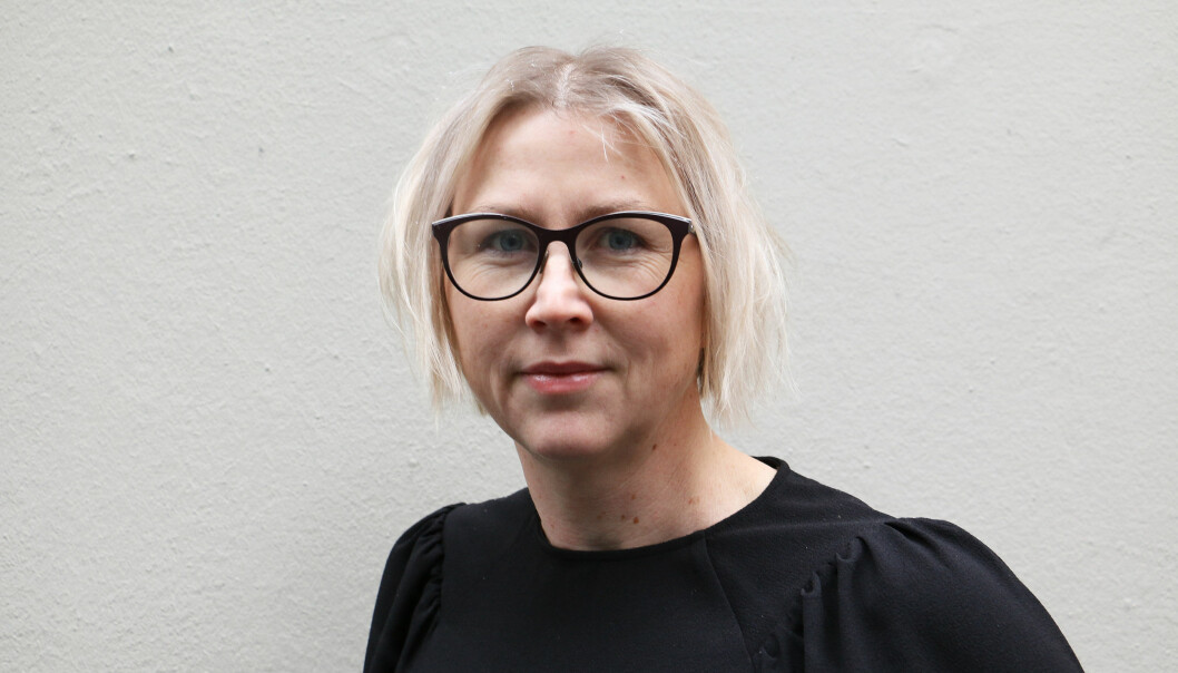 Redaktør Gøril Huse i lettelstavisa Klar Tale.