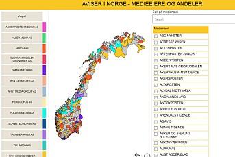 Ny tjeneste gir oversikt over alle norske medier