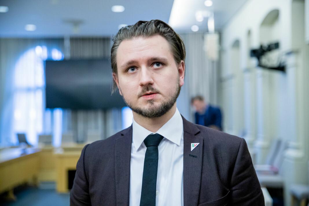 Freddy André Øvstegård (SV) er saksordfører for medieansvarsloven.