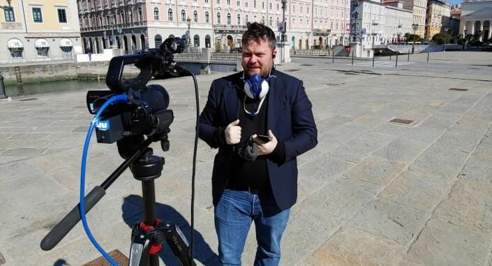 NRKs Roger Sevrin Bruland blir kontaktet av seere som er bekymret for helsa hans