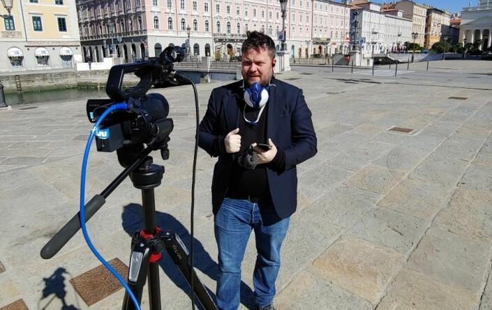 NRK-korrespondenten dekker Italias korona-katastrofe: – Føles som å ha ubåtpatrulje