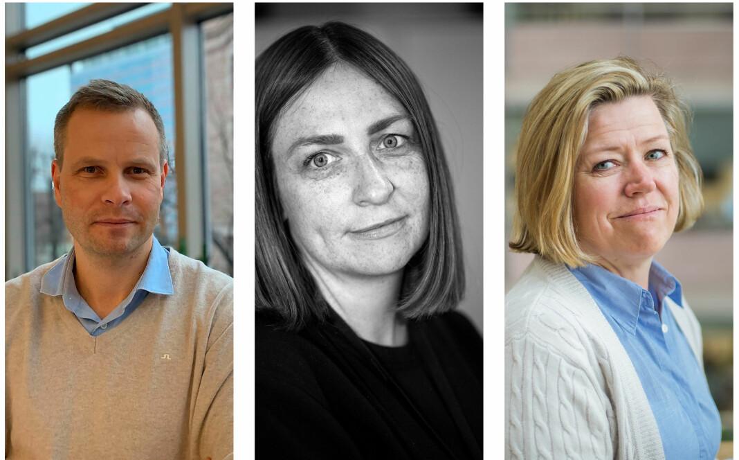 Trond Olav Skrunes i Bergens Tidende, Ann-Inger Borstad i Adresseavisen og Tone Tveøy Strøm-Gundersen i Aftenposten oppfordrer alle helsemyndighetene til mer åpenhet om koronapasientene.