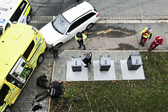 Årets nyhetsbilde er tatt av Aftenposten-journalist Cathrine Hellesøy Harrisson