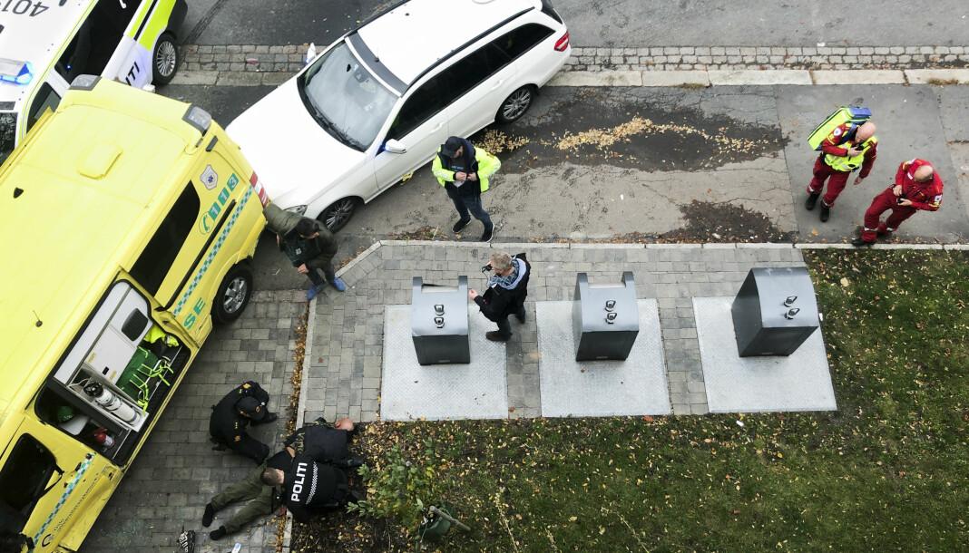 Vinner, Årets nyhetsbilde 2019: Mann kapret ambulanse på Torshov.