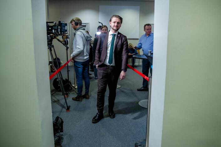 Sosialistisk Venstrepartis mediepolitikse talsperson Freddy André Øvstegård.