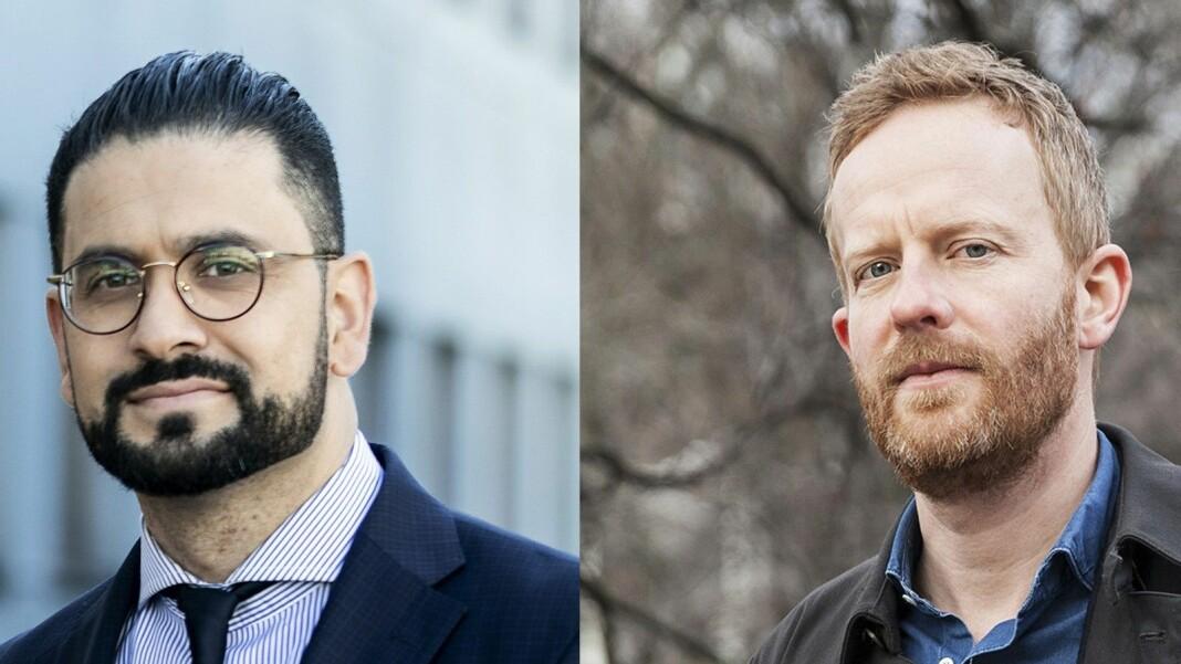 Yama Wolasmal og Simen Ekern blir nye NRK-korrespondenter henholdsvis i Brussel og Beirut.