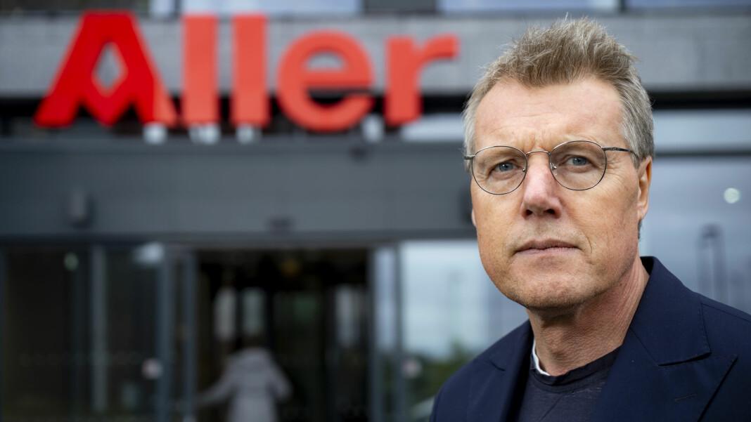 Konsernsjef Dag Sørsdahl i Aller Media må kutte kostnadene.