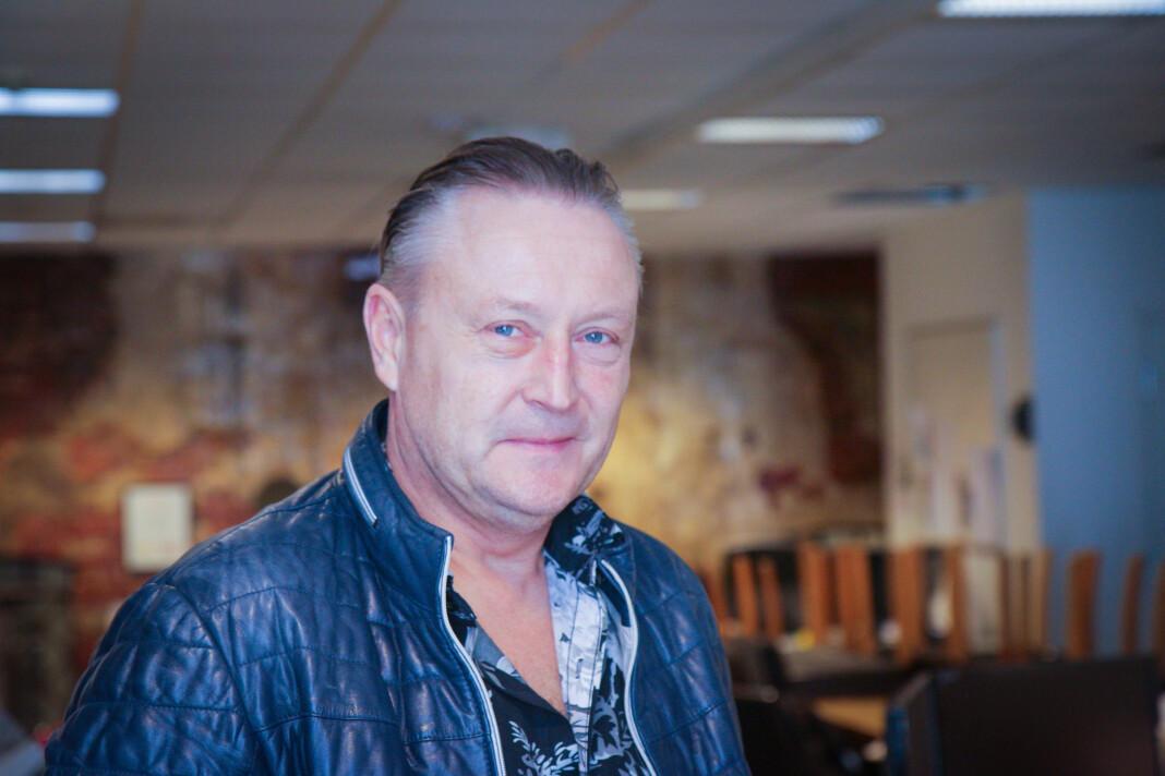 Odd Bjørn Jensen er styreleder i det saksøkte selskapet Nye Arendals Tidende.