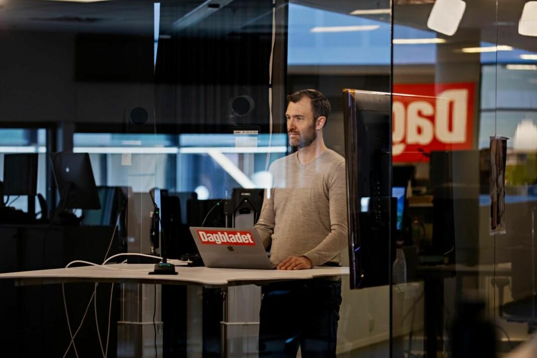 Dagbladets Øystein Sæthre rapporterer direkte på Dagbladet TV.