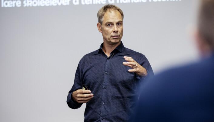 Professor Jens Elmelund Kjeldsen ved UiB.