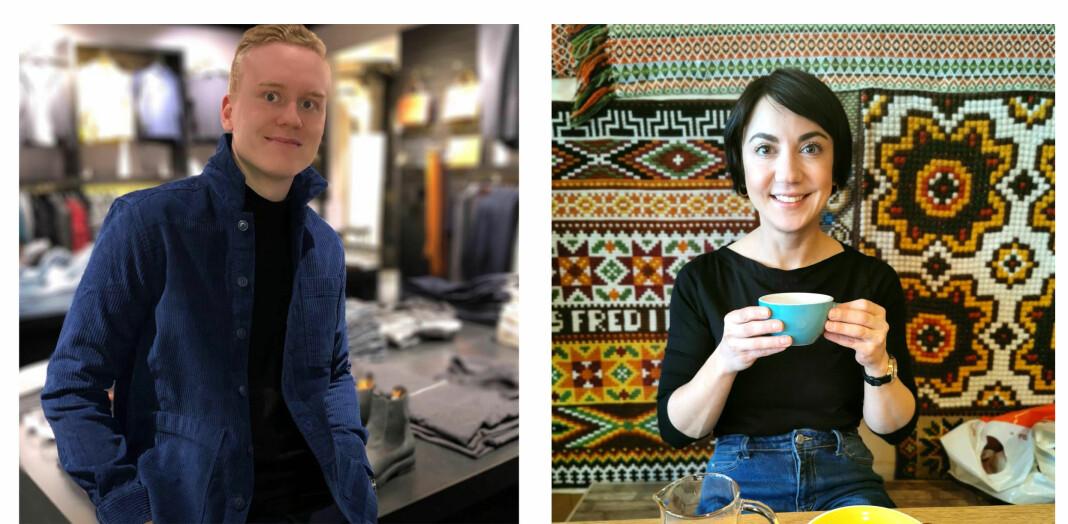 Harstadværingene Erlend Andreassen og Elin Astrid Gjøvik Glad har fått jobb i iHarstad.
