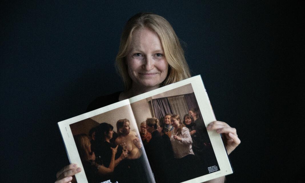 BILDET: Det tok ikke lang tid før fotograf Monica Strømdahl skjønte at dette ville bli noe helt spesielt