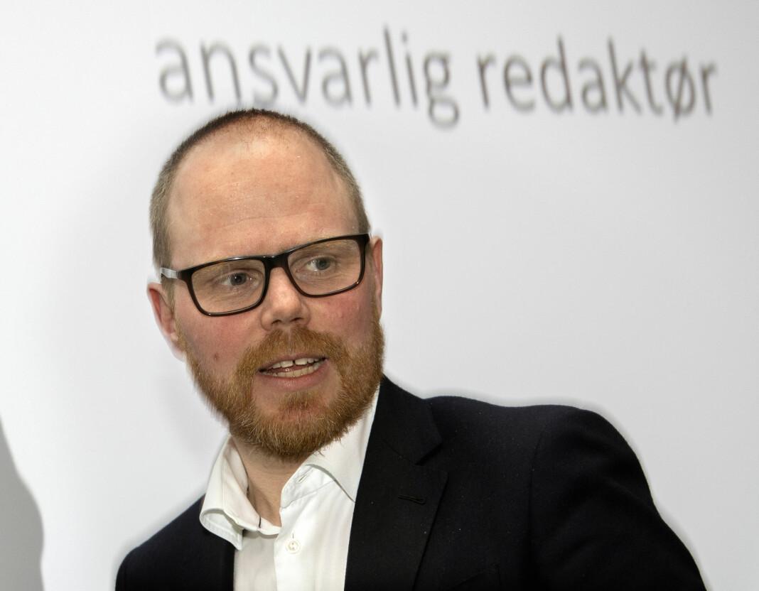 Sjefredaktør og administrerende direktør i VG, Gard Steiro, er rimelig sikker på at koronakrisen vil gi varige endringer i mediebruken.