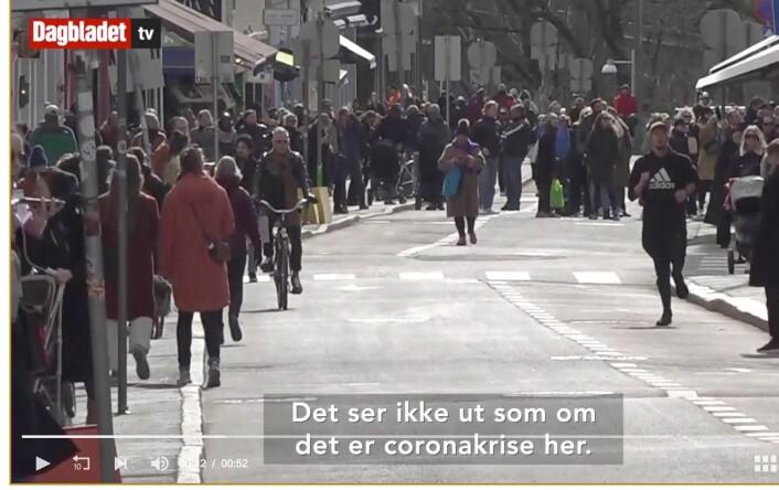 Dagbladet forsvarer bruk av telelinse i Grünerløkka-reportasje