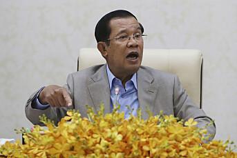 Journalist pågrepet for å ha sitert Kambodsjas statsminister