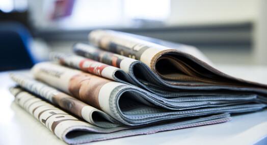Ikke alle aviser sliter med fallende annonseinntekter