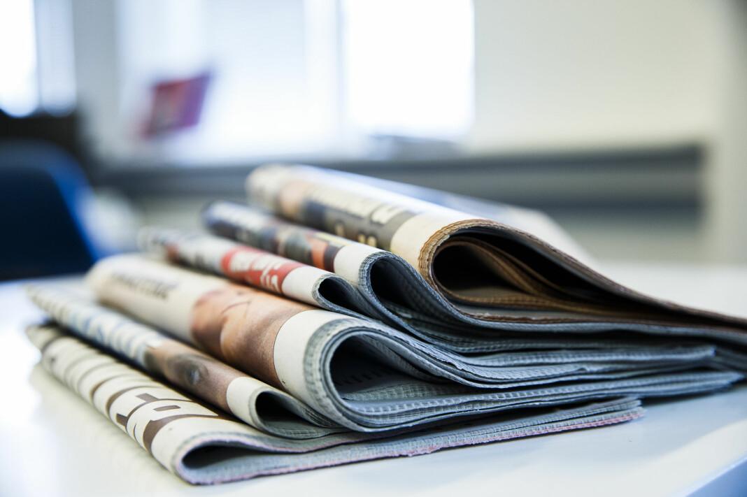 De meningsbærende avisene sliter ikke like mye med annonsefallet som en del andre medier.