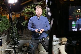 Lars Os er NRKs mann i USA: Hadde aldri stått foran kamera før koronakrisa