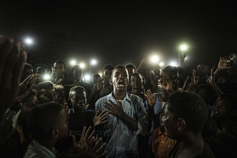 Bilde av demonstranter i Sudan kåret til årets beste pressebilde