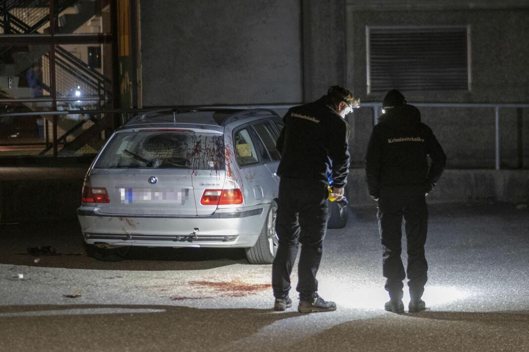 Åtte personer er siktet etter et slagsmål utenfor Lyngdalshallen vest på Sørlandet tirsdag kveld.
