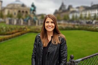 Marthe Njåstad er ansatt som journalist i Intrafish